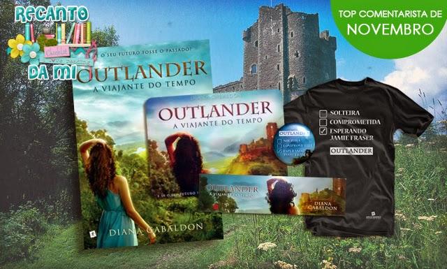 Promoção Outlander Diana Gabaldon