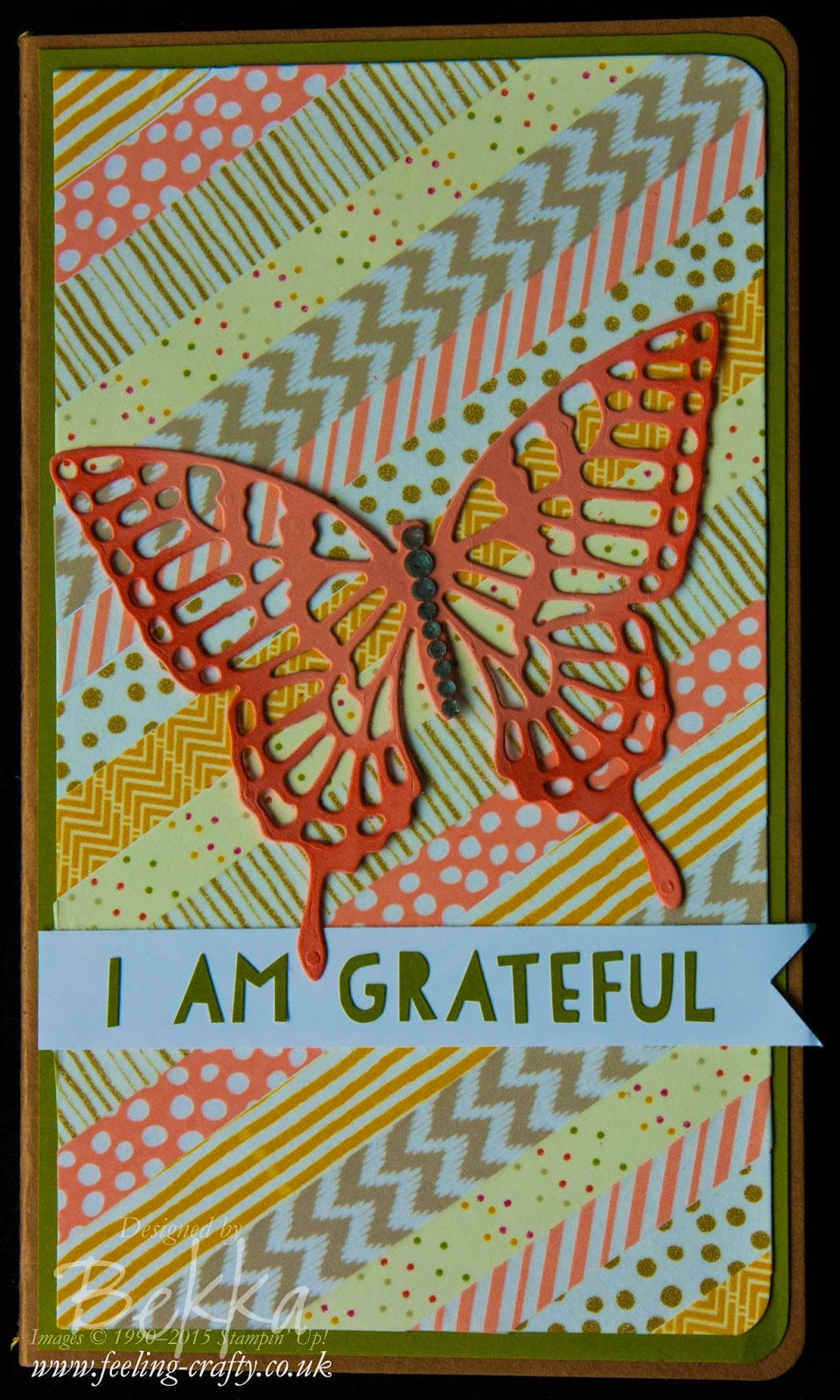 Gratitude Journal with Washi Tape. Check it our here
