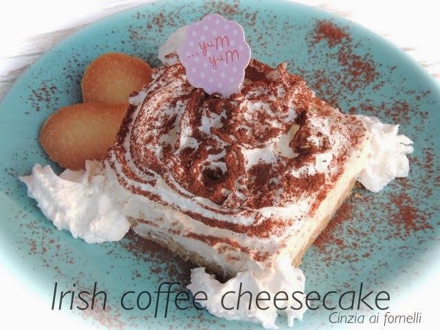 cheesecake caffè irlandese