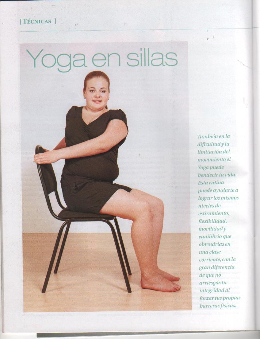 Yoga con edith abhie yoga yoga en sillas for Sillas plegables para yoga