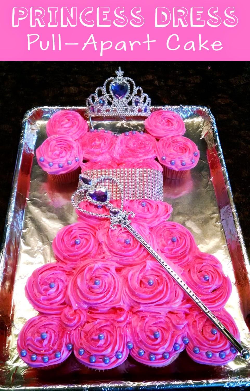 Jacobs Family Blog Princess Dress Pull Apart Cake