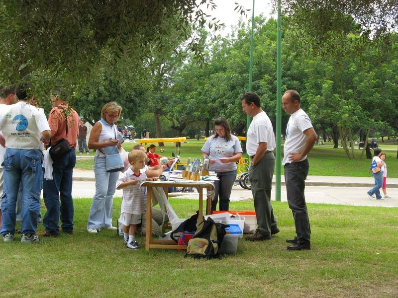 Educación Ambiental. Día Mundial de las Aves 2007. Parque del Alamillo, 7 de octubre.