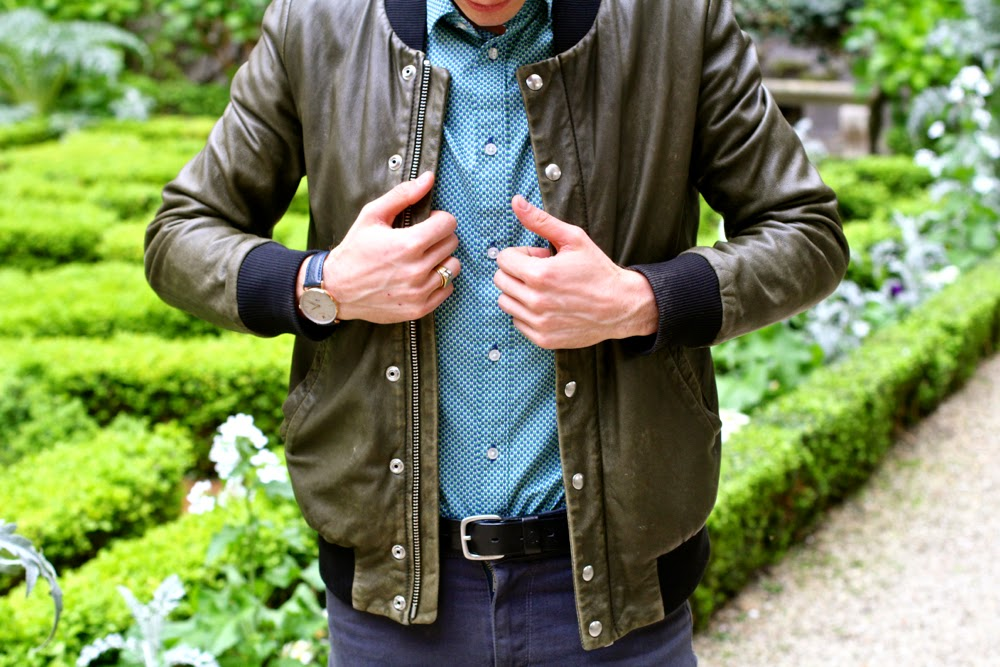 BLOG-MODE-HOMME-PARIS-Jacket-Iro_Celioclub-Chemise_Asos-Skinny_Pair-of-Kings_Charlie-Watch-Montre_Streetstyle-Carnavalet-Musée1