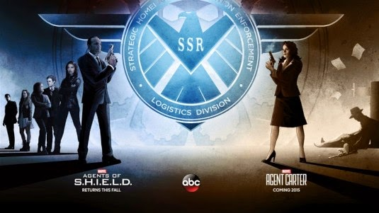 San Diego Comic-Con 2014 Exclusive Agents of S.H.I.E.L.D. & Agent Carter Television Poster