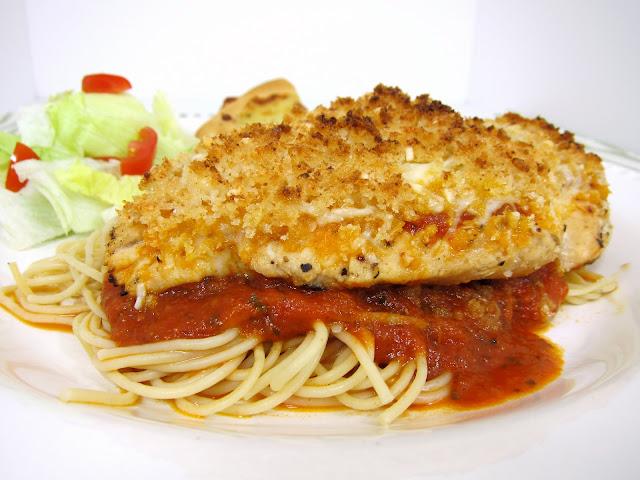 Grilled Chicken Parmesan | Plain Chicken