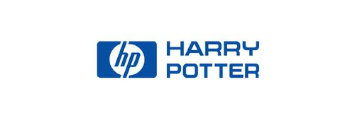20 Logo Plesetan dari Perusahaan-Perusahaan Terkenal di Dunia: HP - Harry Potter