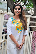 Colors Swathi photos at Tripura Movie Interview-thumbnail-17
