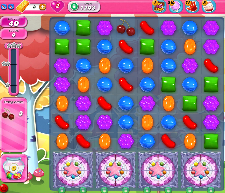 Candy Crush Saga 1203