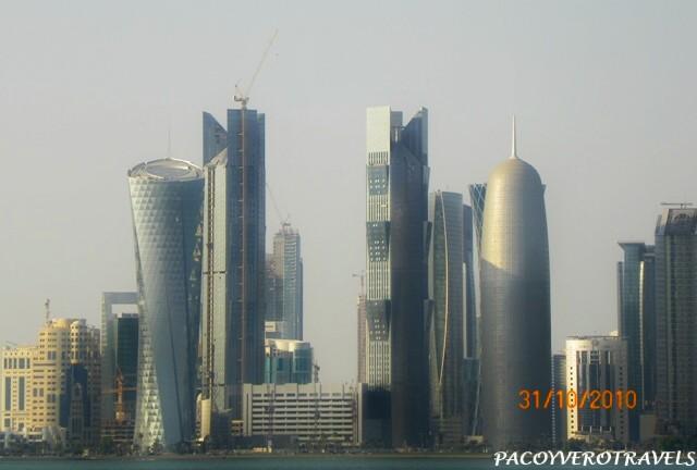 El Skyline desde el Corniche de Doha