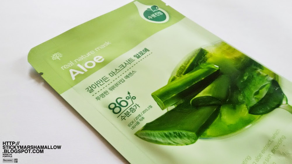 Review The Face Shop Real Nature Mask Sheet Aloe Noide As Fortitle