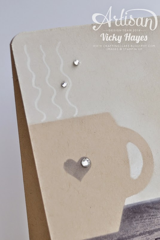 Different uses for Stampin' Up's Curvy Keepsake Box die and Chalk Marker