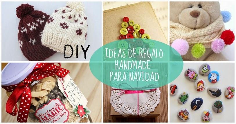 Ideas de regalo handmade para navidad
