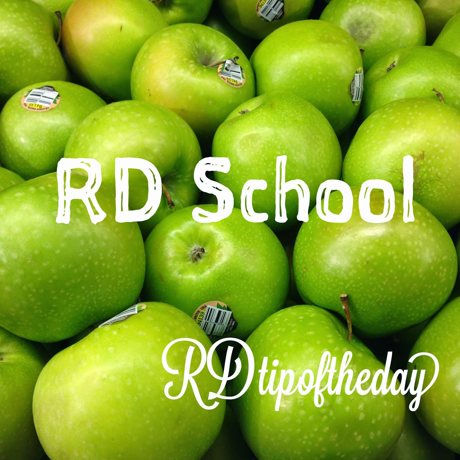 rd tip of the day   becoming a registered dietitian