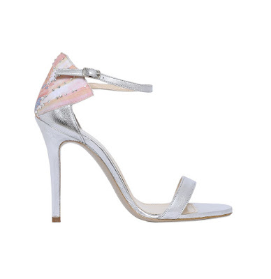 Camilla Elphick stiletto sandals with venus design