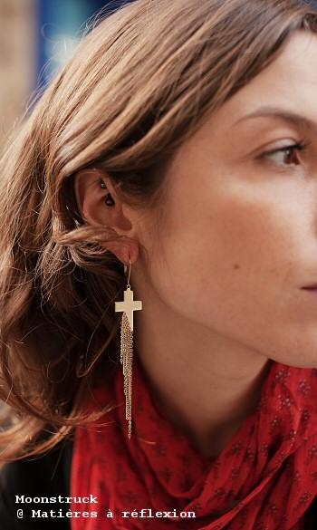 Boucles d'oreilles Moonstruck bijoux