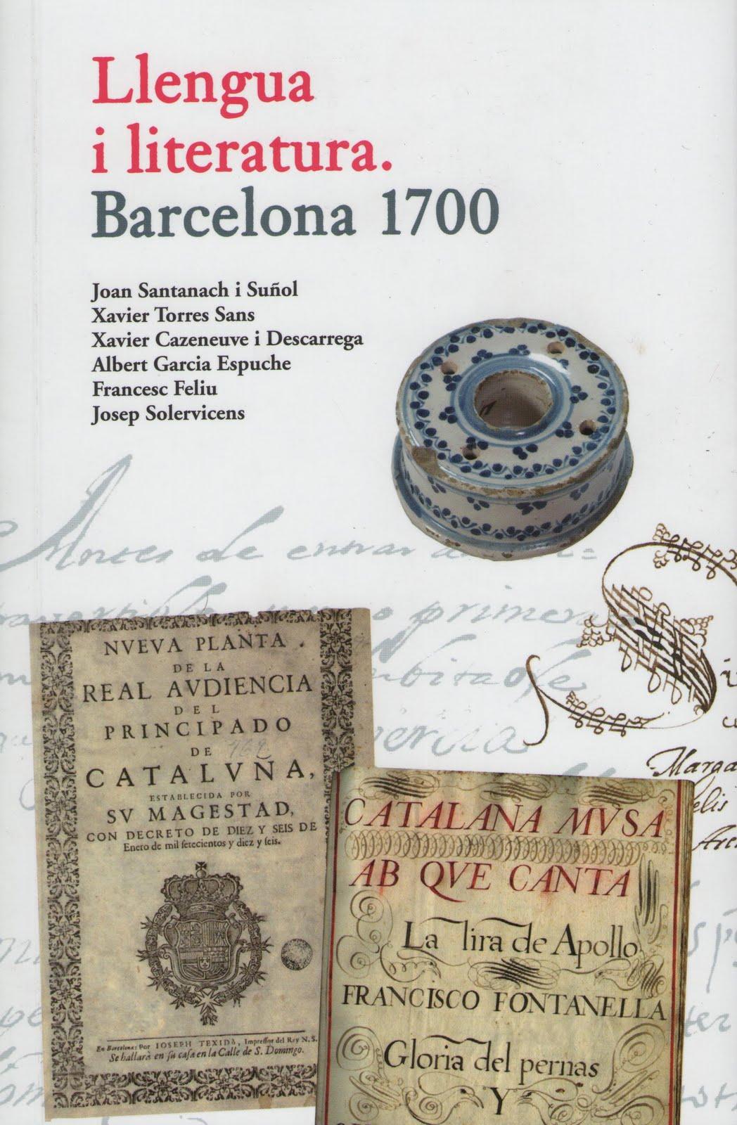 Barcelona 1700: Llengua i literatura