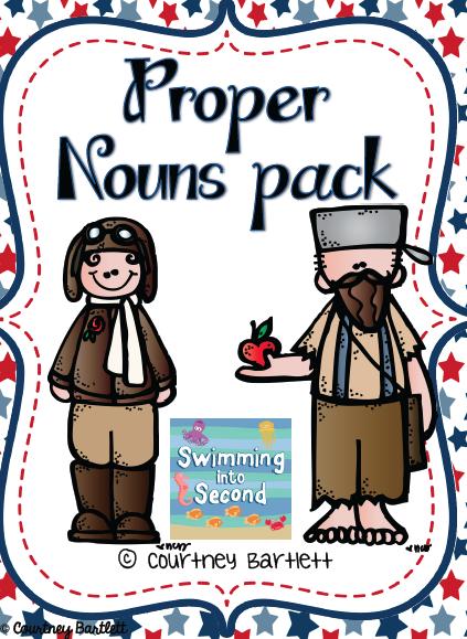 http://www.teacherspayteachers.com/Product/Proper-Nouns-Pack-157376