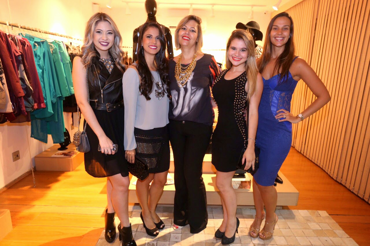 Blogueiras de Belo Horizonte no lançamento da grife Regina Salomão