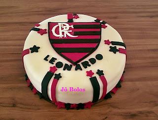 Bolo De Pasta Americana Do Flamengo