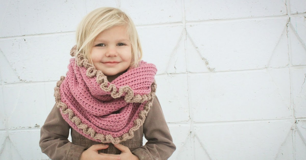 Crochet For Free Loopy Hood Scarf With Or With Out