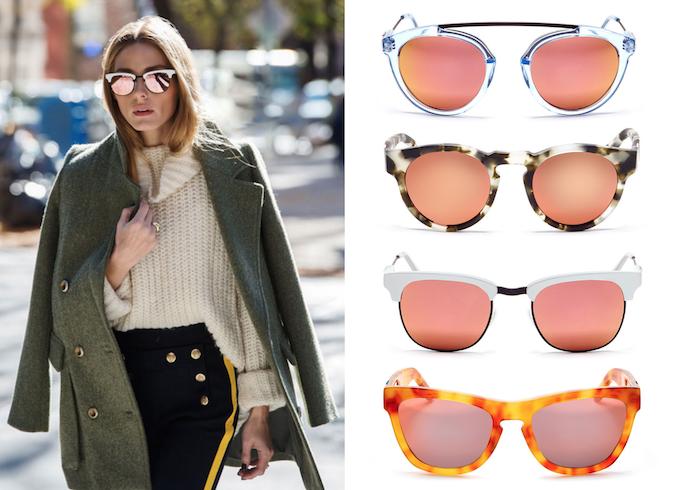 Olivia Palermo x Westward Leaning sunglasses