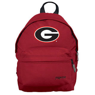 Georgia Bulldogs NCAA JanSport Embroidered Small Fry Backpack
