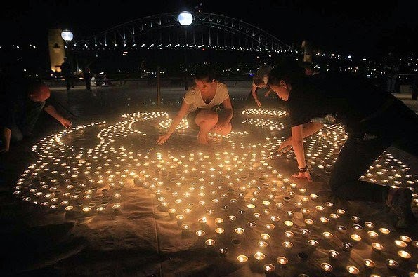 earth hour twitter images