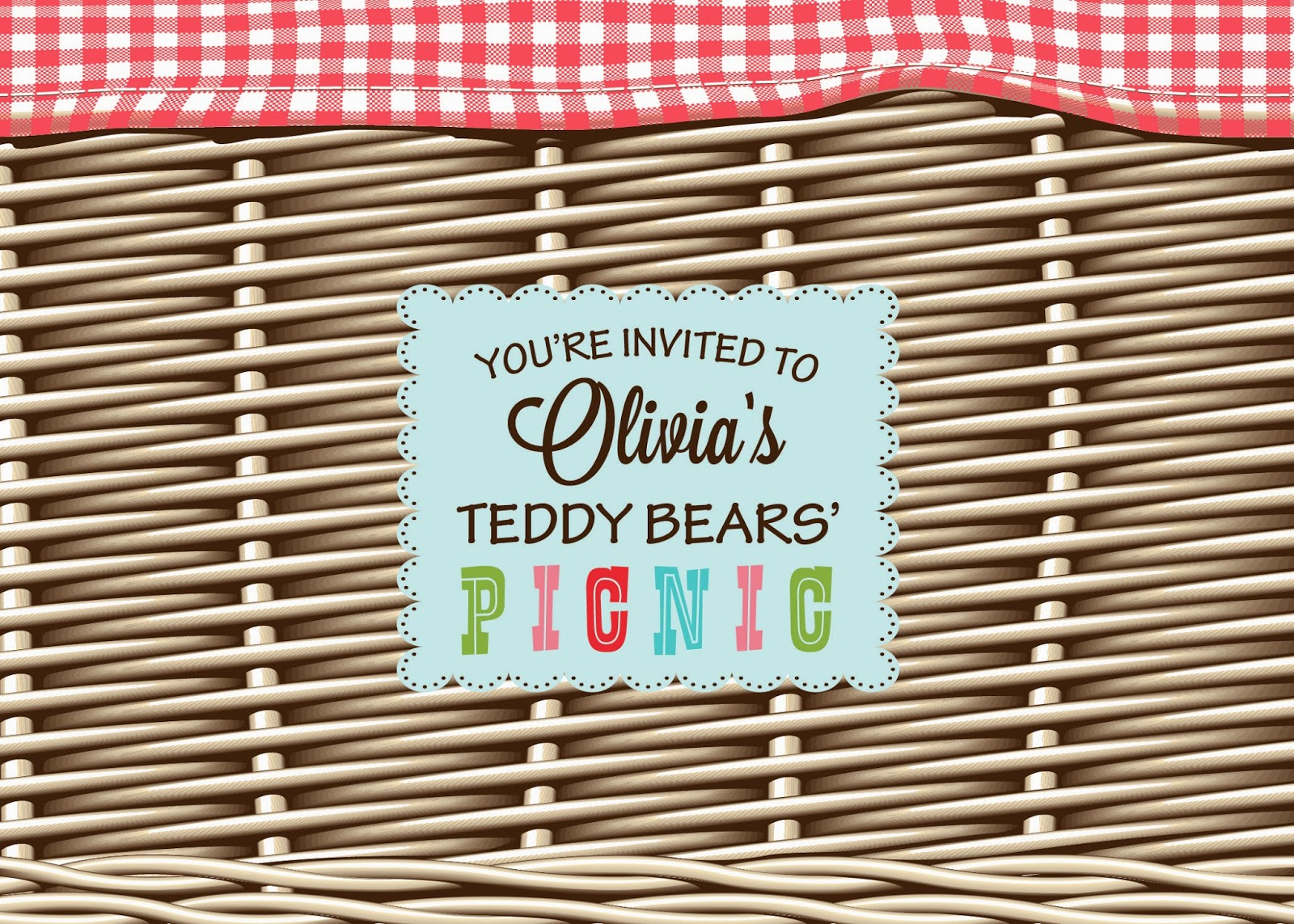 Mind My Beeswax: Olivia\'s Teddy Bears\' Picnic 1st Birthday Party!