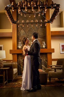 Christian and Katie's wedding dance at the Salish Lodge - Patricia Stimac, Seattle Wedding Officiant