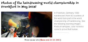 Photos of the hairdressing world championship in Frankfurt in May 2014!