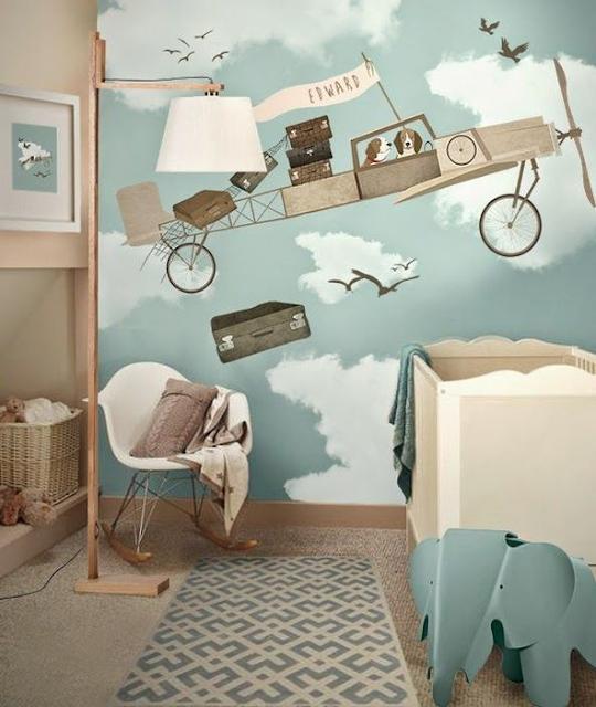 Необычный декор детских комнат