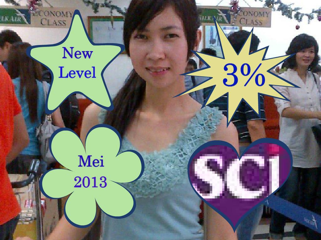 New Level Oriflame Manado Bulan Mei 2013 Heni Bakara 0813 8839 6003