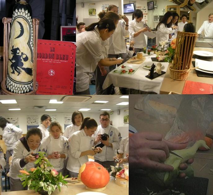 Gerard quentin cours de sculpture au cordon bleu - Cours de cuisine cordon bleu ...