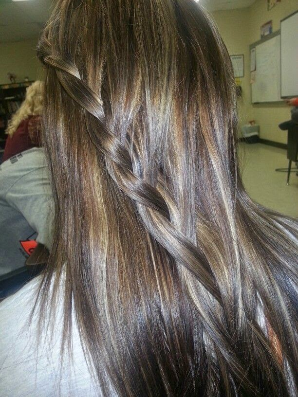 12 Flattering Dark Brown Hair With Caramel Highlights Hairstyles