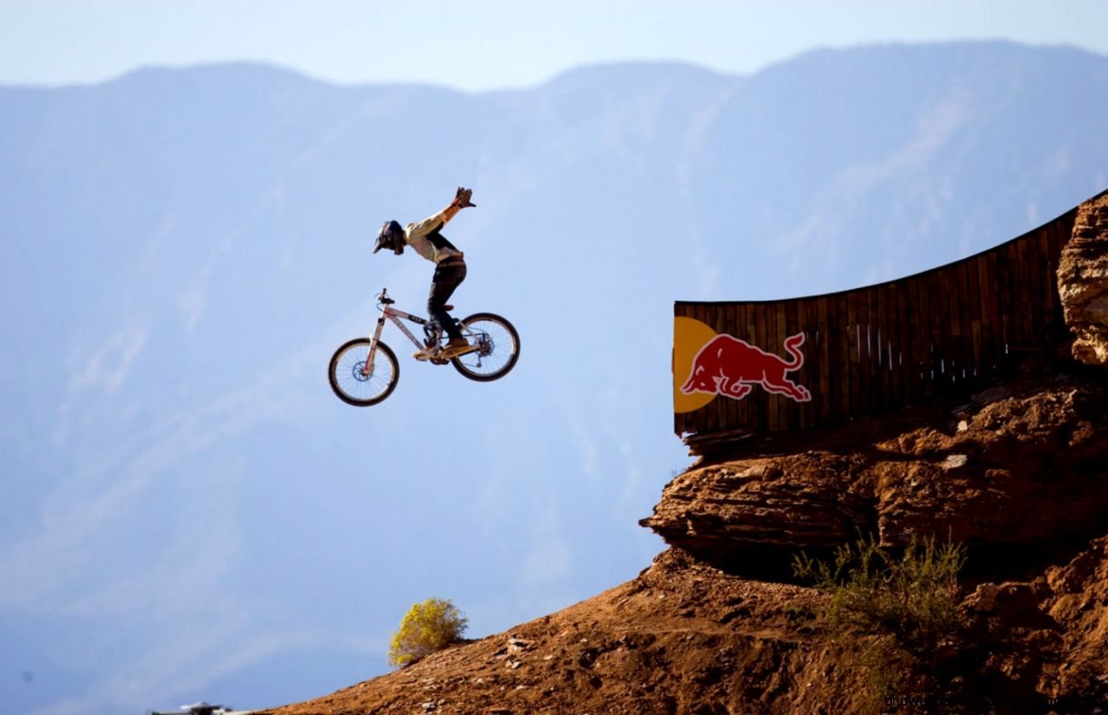 Red Bull Downhill Mountain Bike