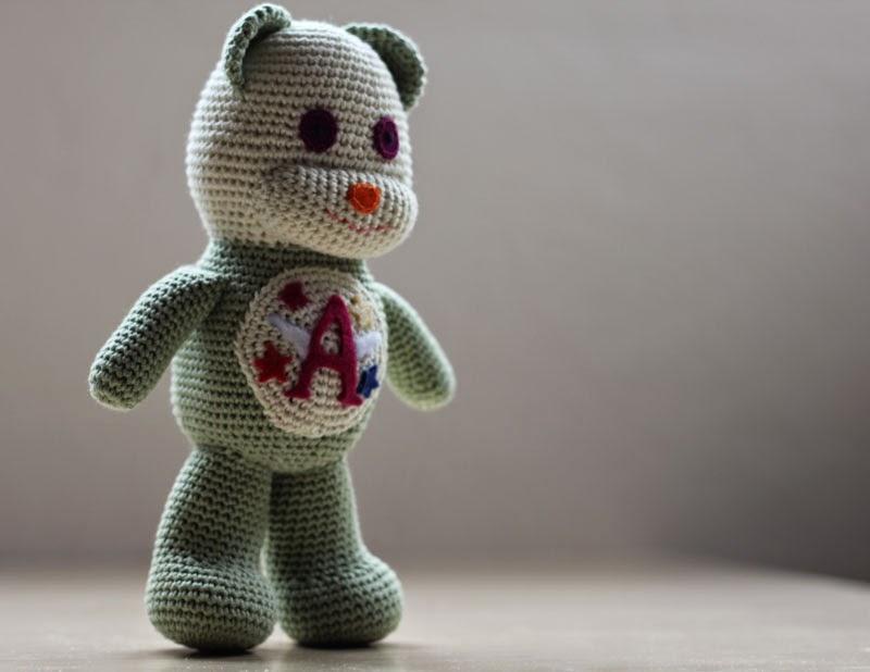 Amigurumi Oveja : Mis obsesiones de hoy: Amigurumi oso amoroso