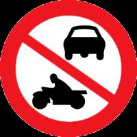 No vehicular movement