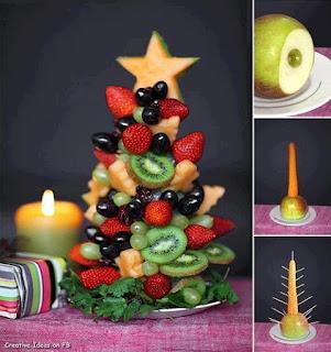 Árvore de Natal de Fruta