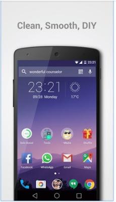Aplikasi Tema Tampilan Solo Launcher Terbaru APK Android