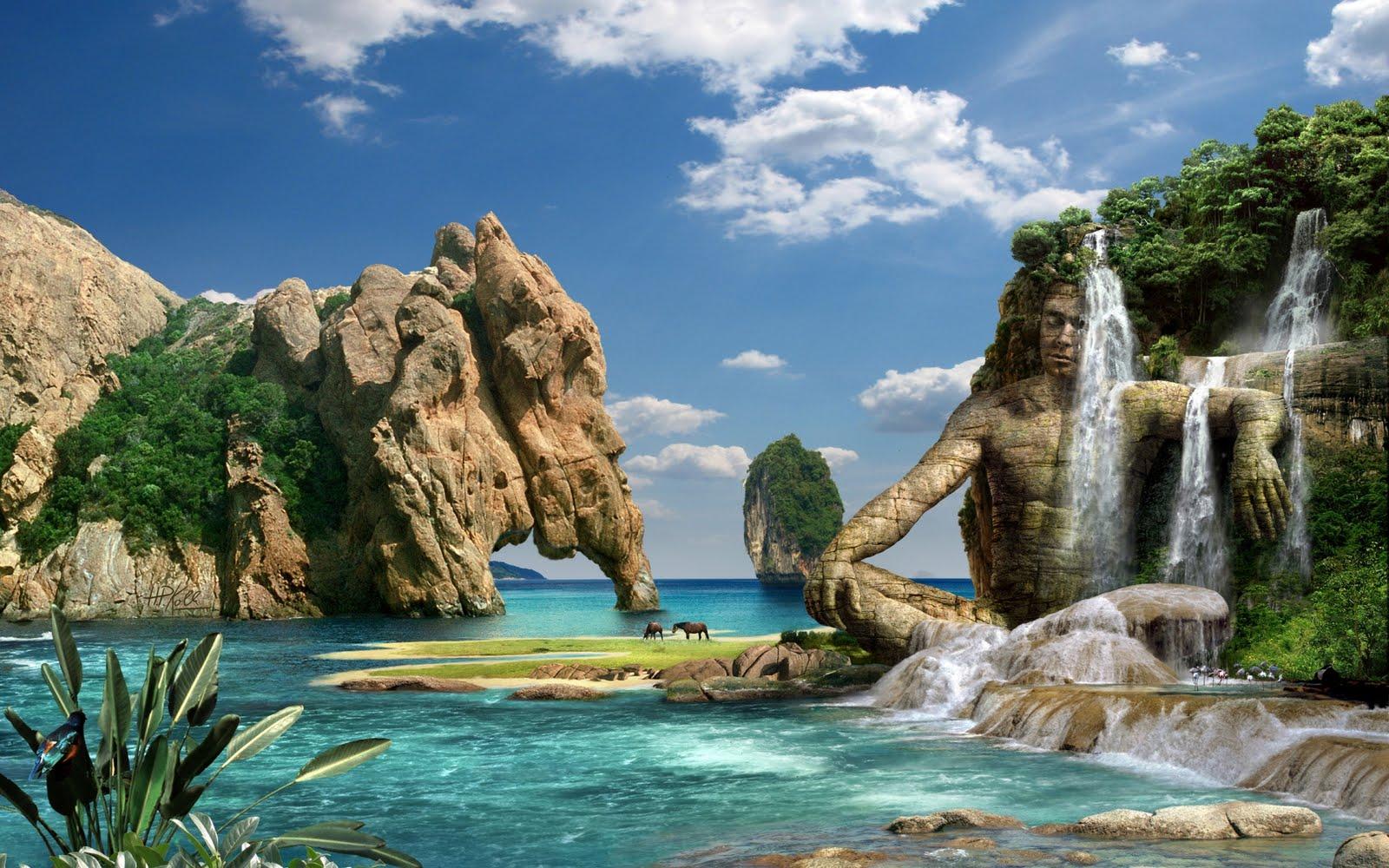 Cascadas fantásticas - Fantasy waterfalls