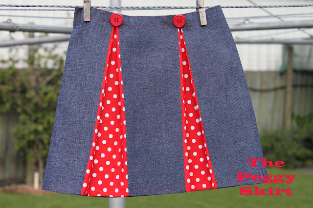 gift presents for women: peggy skirt tutorial