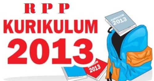 Rpp Kurikulum 2013 Untuk Sd Kelas 4 Semester 1