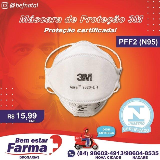 MÁSCARA 3M PFF2 (N95)