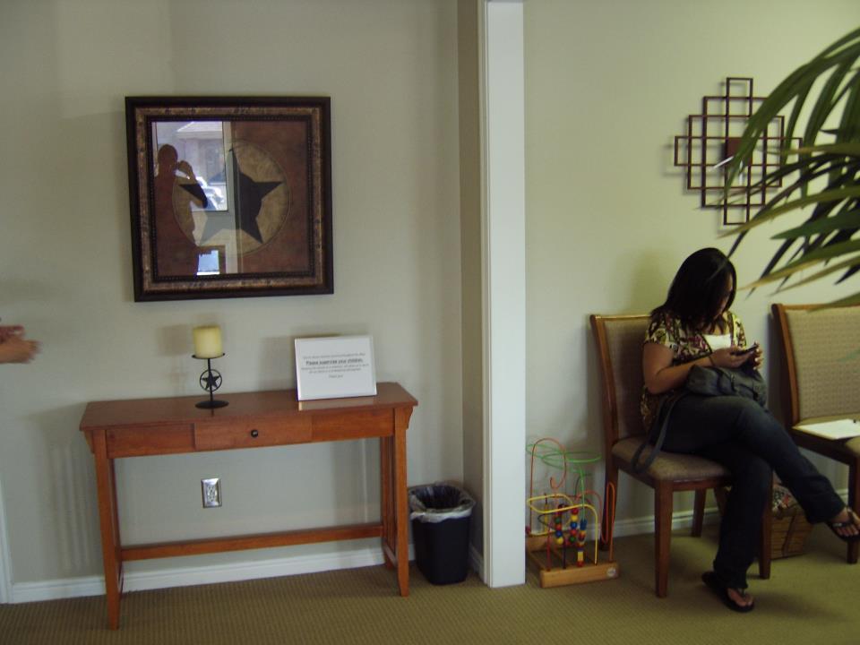 Lori And Lisa 39 S Decor Waiting Room