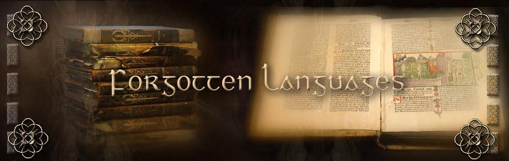 Forgotten Languages Full
