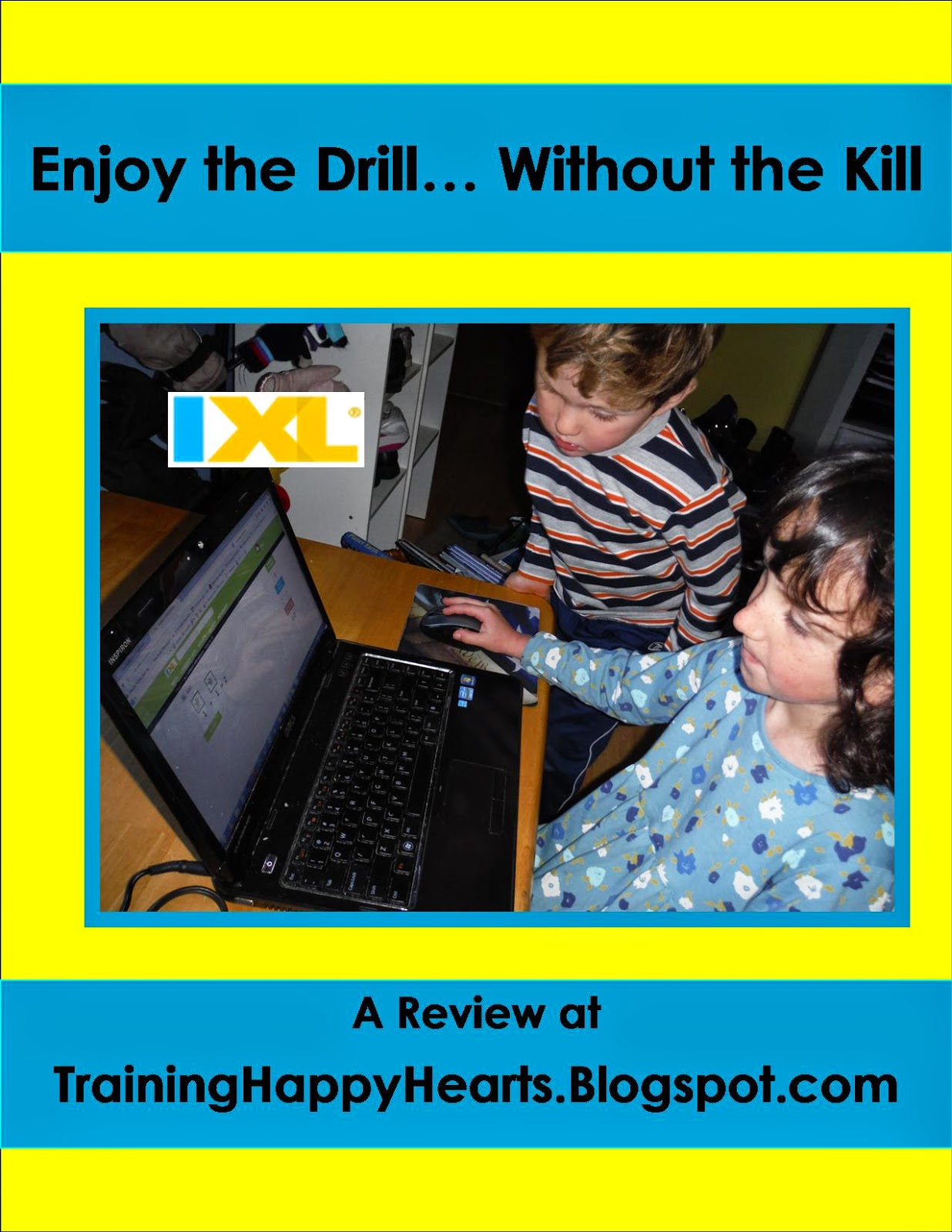 Training Happy Hearts: Drill Without the Kill with IXL {A Review}