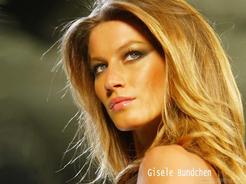 Gisele Bundchen Brazilian Fashion Model Glamour Wallpaper