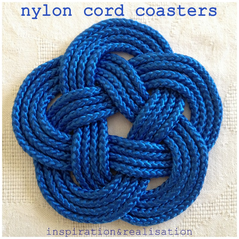 Inspiration and realisation diy fashion blog diy nautical coasters diy nautical knots on the table solutioingenieria Image collections