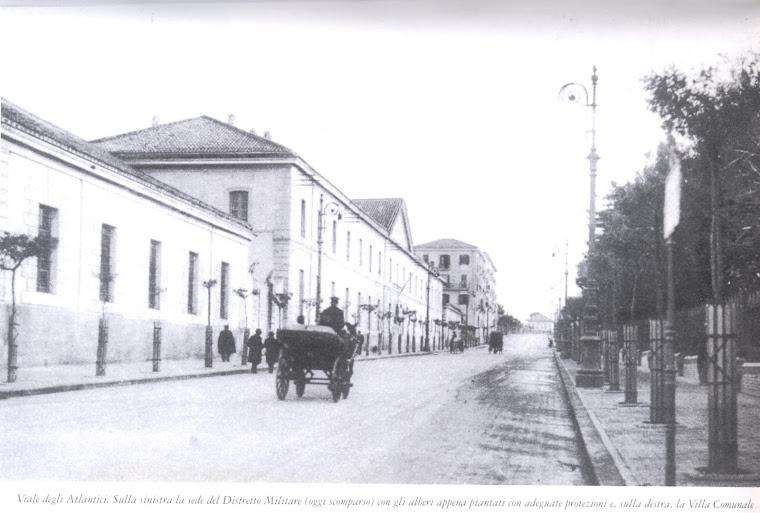 Viale degli Atlantici e Caserma Guidoni