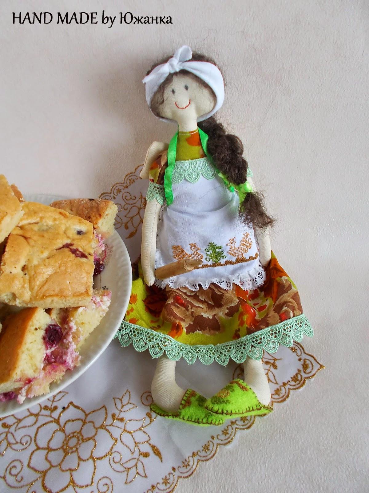 текстильная кукла фея